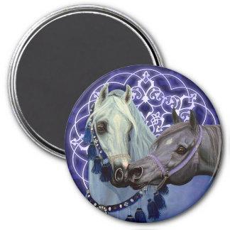 El desierto Jewels el imán redondo de los caballos