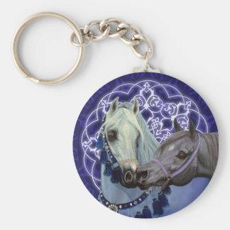 El desierto Jewels llavero árabe de los caballos