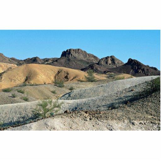 """El desierto """"pintado"""" de la reserva imperial, Ariz Escultura Fotográfica"""