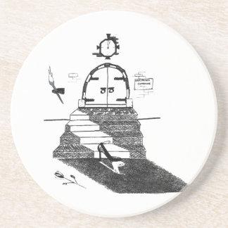 El deslizador de Cenicienta Posavasos Personalizados