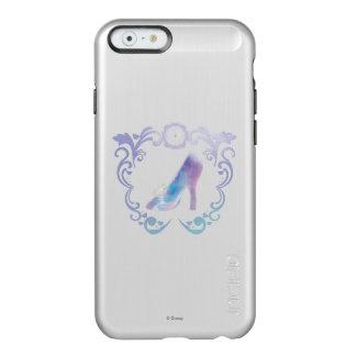 El deslizador de cristal de Cenicienta Funda Para iPhone 6 Plus Incipio Feather Shine