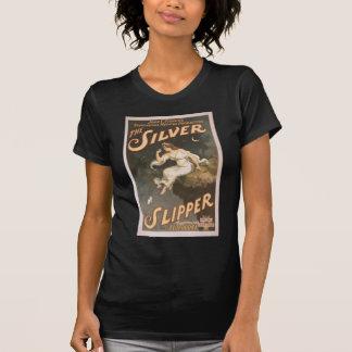 El deslizador de plata camisetas