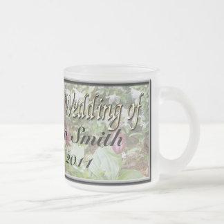 El deslizador de señora taza de café