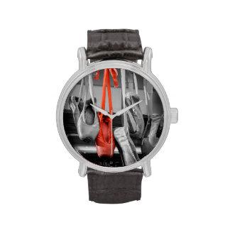 El deslizador rojo relojes