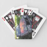 El deslumbramiento Razzberry - el coche de la conc Baraja Cartas De Poker
