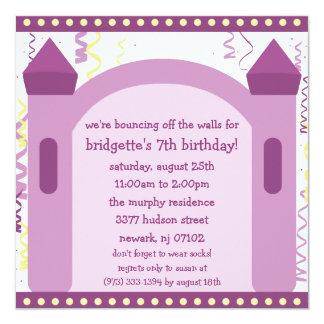 El despedir de la fiesta de cumpleaños de la casa comunicados personalizados