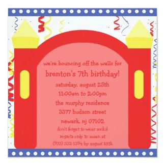 El despedir de la fiesta de cumpleaños de la casa invitaciones personales