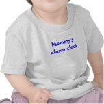 El despertador de la mamá camisetas
