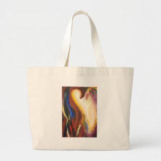 El despertar alegre (simbolismo espiritual abstrac bolsas