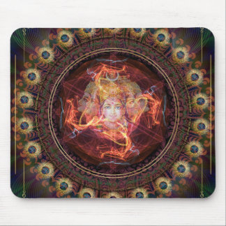 El despertar divino con el poder de Gayatri. Alfombrilla De Ratón