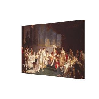 El desposorio de príncipe Jerome Bonaparte Lona Estirada Galerías