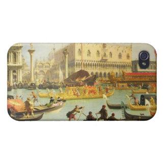 El desposorio del dux veneciano iPhone 4/4S funda