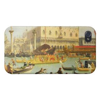 El desposorio del dux veneciano iPhone 4 carcasa