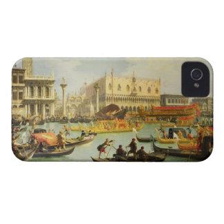 El desposorio del dux veneciano iPhone 4 Case-Mate carcasa