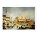El desposorio del dux veneciano tarjetas postales