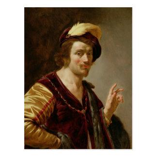El desposorio: El novio, c.1630 Tarjeta Postal
