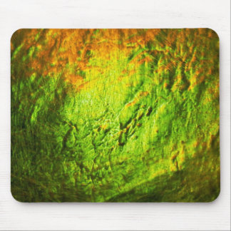 El destellar oro-verde tapete de ratones