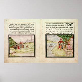 El destierro de Hagar y de Ishmael Poster