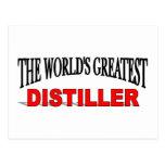 El destilador más grande del mundo postales
