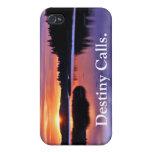 El destino llama el caso de IPhone iPhone 4/4S Carcasas