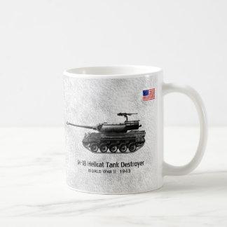 El Destructor-tanque del tanque de la bruja M-18 Taza