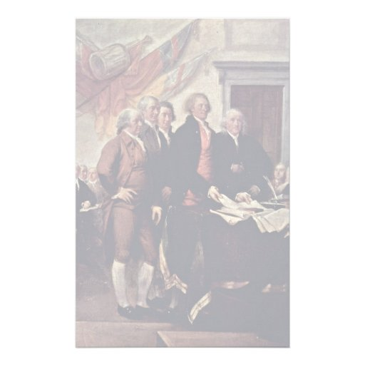 El detalle de la Declaración de Independencia por Papeleria De Diseño