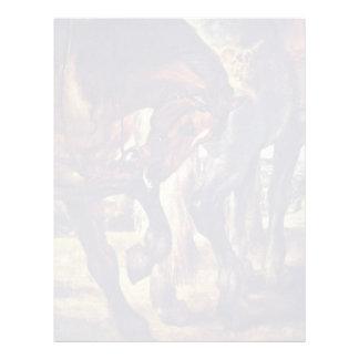 El detalle de la lanza de Rubens Peter Paul Membrete