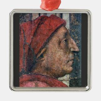 El detalle de la trinidad por Masaccio Ornamento De Navidad