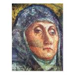El detalle de la trinidad por Masaccio Tarjeta Postal