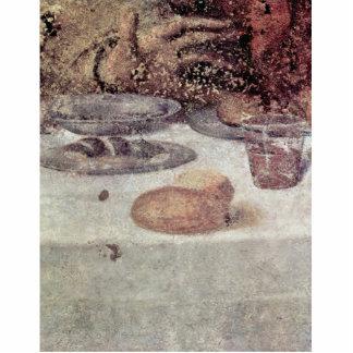 El detalle de la última cena de Leonardo da Vinci Fotoescultura Vertical