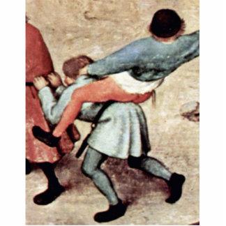 El detalle de los juegos de los niños por Bruegel Esculturas Fotográficas