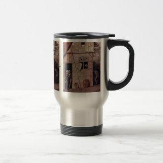 El detalle de Tondo del vagabundo de Hieronymus Bo Tazas De Café