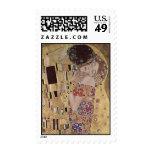 El detalle del beso - Gustavo Klimt Franqueo