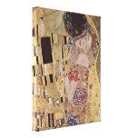 El detalle del beso - Gustavo Klimt Lienzo Envuelto Para Galerias