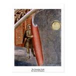 El detalle del día del juicio final de Giotto Di B Postales
