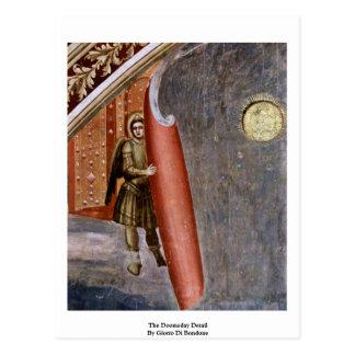 El detalle del día del juicio final de Giotto Di Postal