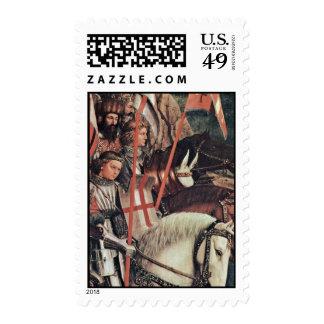 El detalle honrado de los caballeros (copia) de sellos
