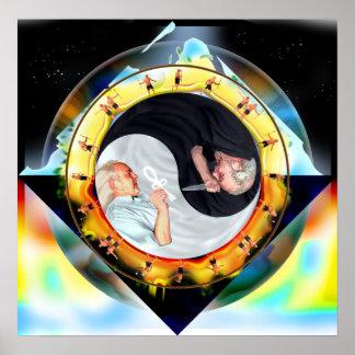 El Dharma dramático de la dualidad en duelo Póster