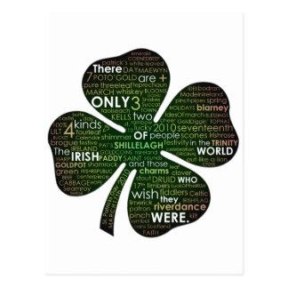 El día 2010 de St Patrick Postales