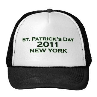 El día 2011 de St Patrick - Nueva York Gorras