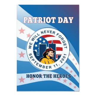 El día americano del patriota recuerda el poster comunicados