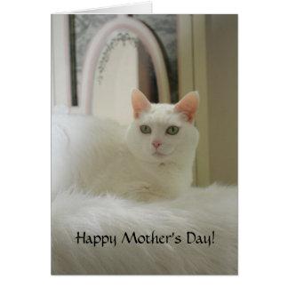 El día bonito adaptable de Cat Mother Tarjetón