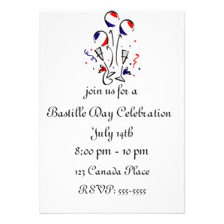 El día de Bastille hincha la invitación
