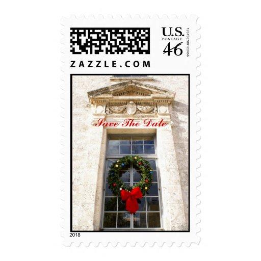 El día de fiesta del tribunal, ahorra la fecha sello