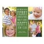 El día de fiesta desea la postal de la tarjeta de