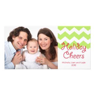 El día de fiesta verde del galón anima a la famili tarjeta fotográfica