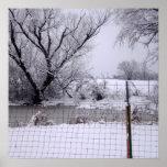 El día de invierno impresiones
