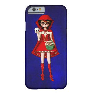 El día de la capa con capucha roja muerta funda barely there iPhone 6