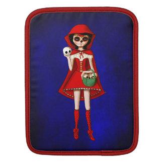 El día de la capa con capucha roja muerta funda para iPads