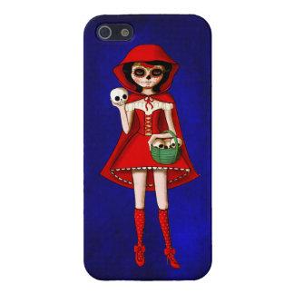 El día de la capa con capucha roja muerta iPhone 5 carcasas
